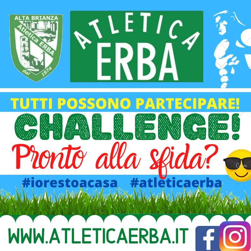 Una sfida al divano #iorestoacasa #atleticaerba