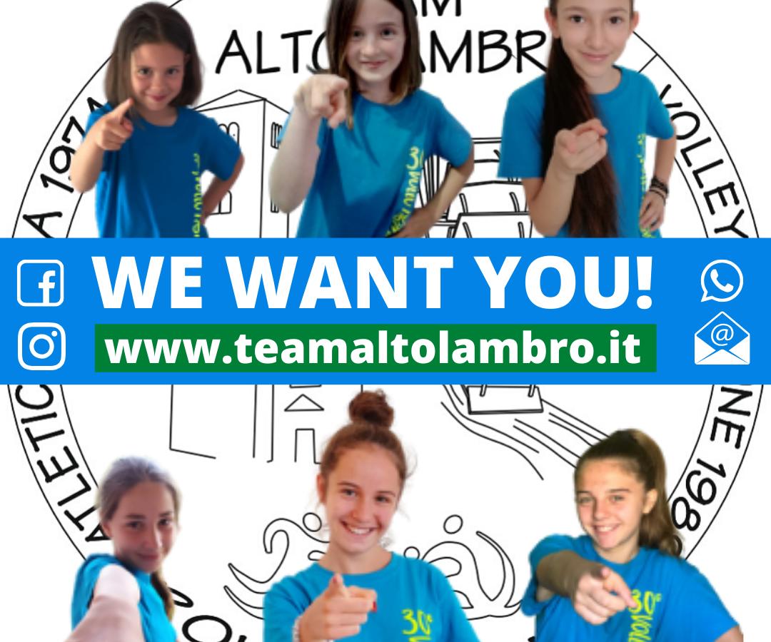 Team Alto Lambro ASD sezione volley: contattaci per informazioni