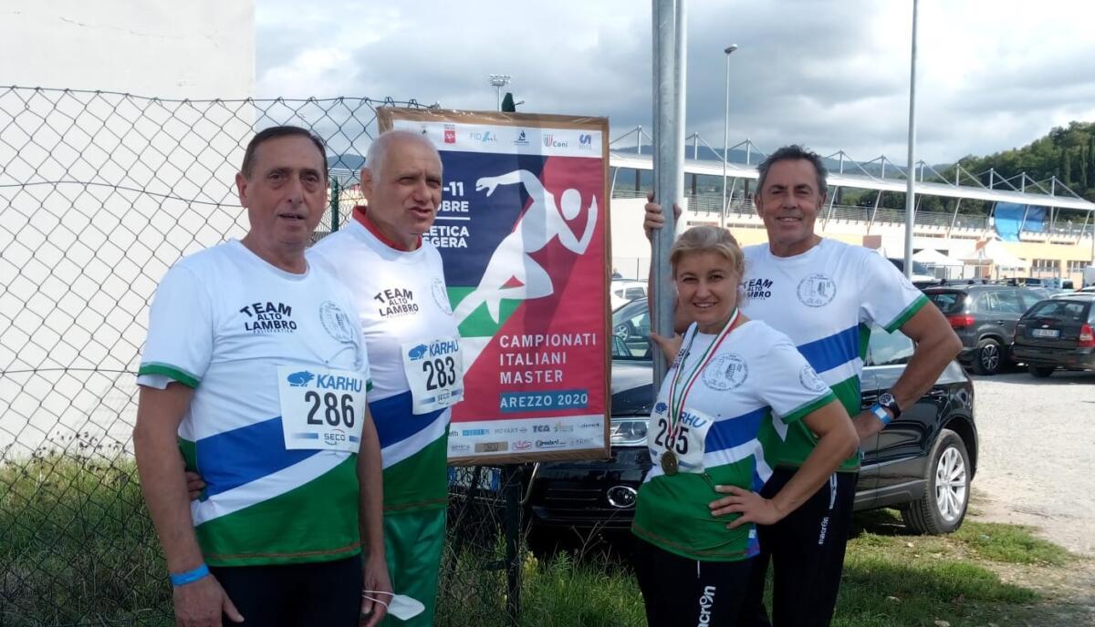 Buone prestazioni per il Team Alto Lambro ad Arezzo