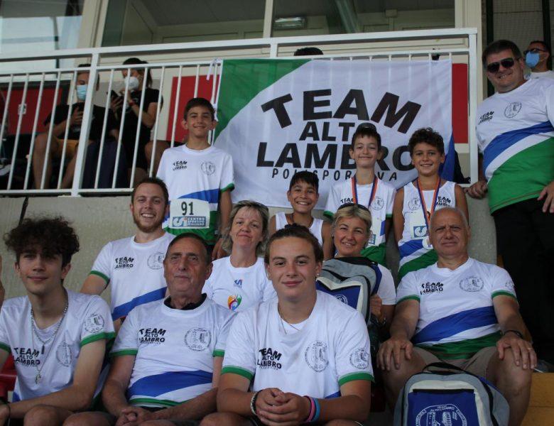 Campionati nazionali CSI di Grosseto: 2 ori, 5 argenti e 5 bronzi per il Team Alto Lambro